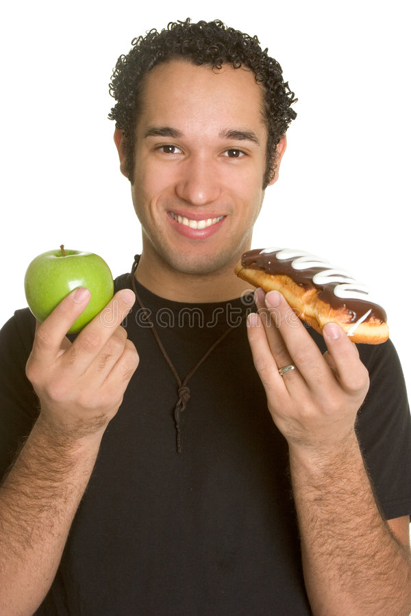 Food Man royalty free stock images