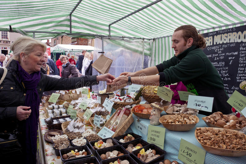 Download Food Market - Yorkshire - England Editorial Stock Photo - Image: 24862783