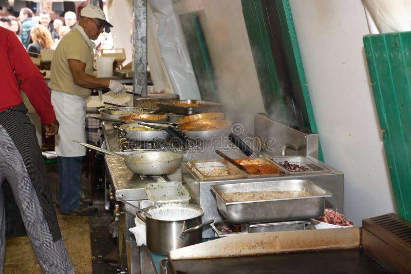 Food meat dish tuscan royalty free stock photo