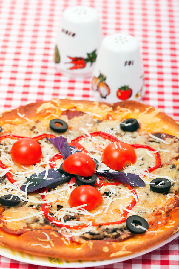 Food - pizza royalty free stock photos