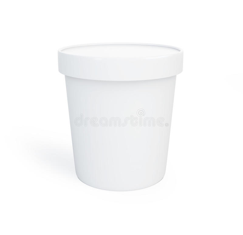 Download Food Plastic Container White Background Stock Illustration - Image: 30161950