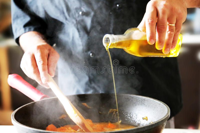 Food preparation photo royalty free stock images