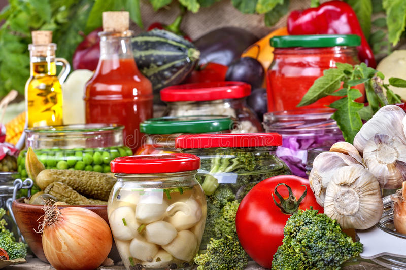 Food preservation royalty free stock photo