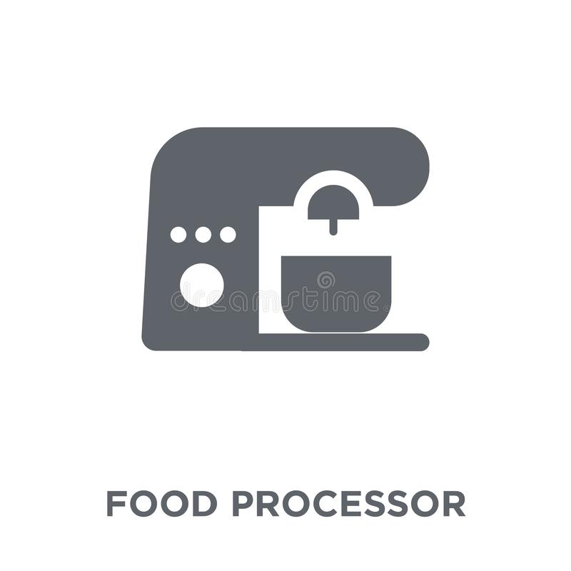 food processor icon from Electronic devices collection. vector illustration