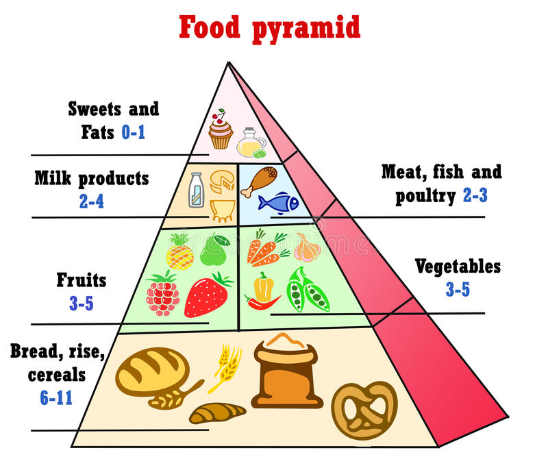 Triangle Food Chart Trinity