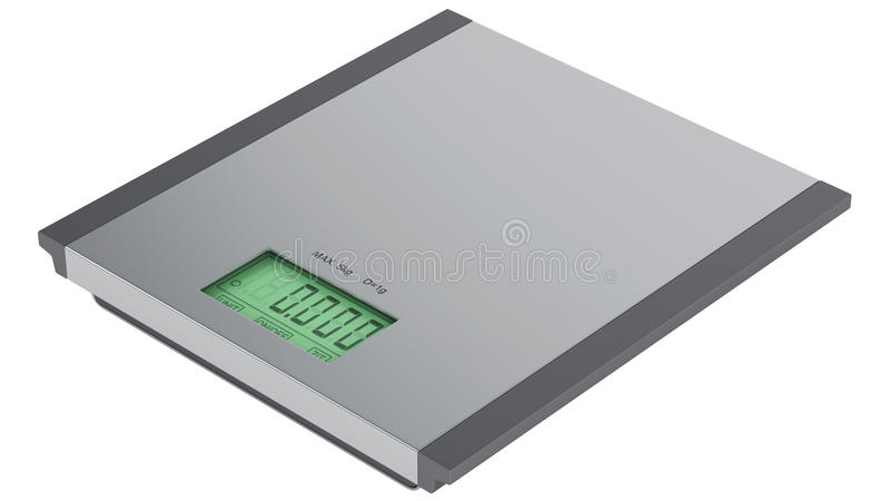 Download Food scales machine stock illustration. Image of container - 23512278