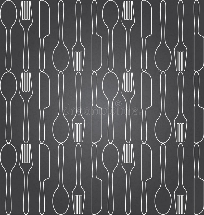 Food seamless pattern vector illustration