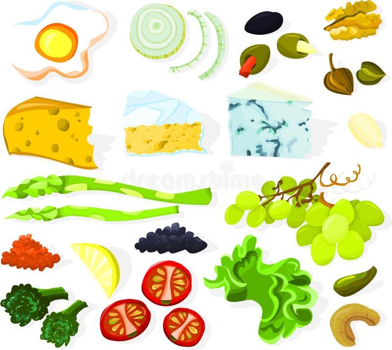 Free Food Set 01 Royalty Free Stock Images - 14409239