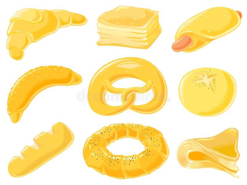 Food set - pastry