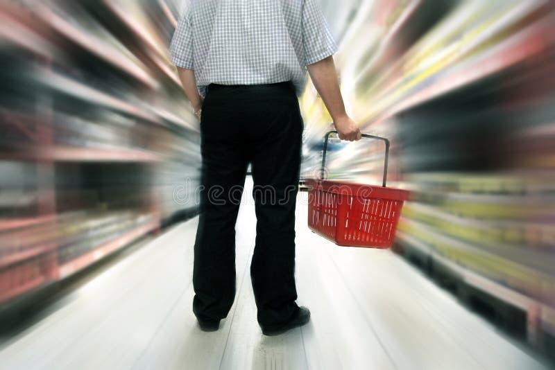 Food shopping stock photos