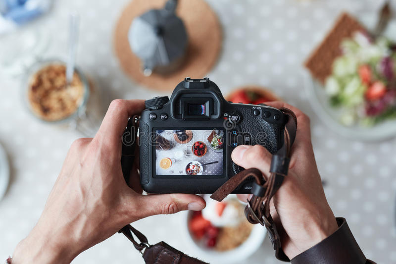 Food shot stock photography