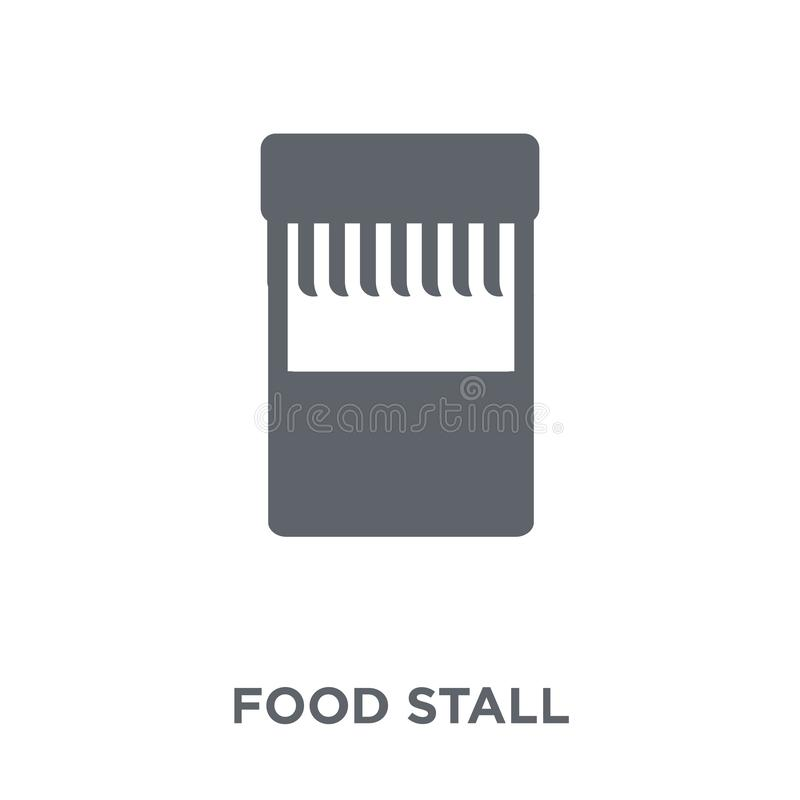 Food stall icon from Australia collection. stock illustration