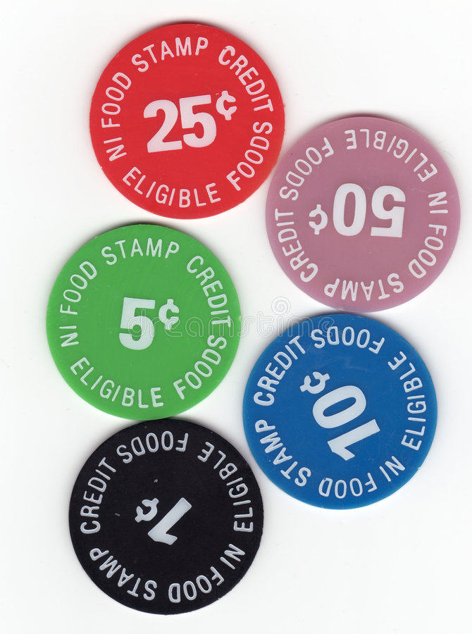 Free Food Stamp Tokens Royalty Free Stock Photo - 2388175