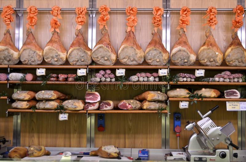Food store stock photo