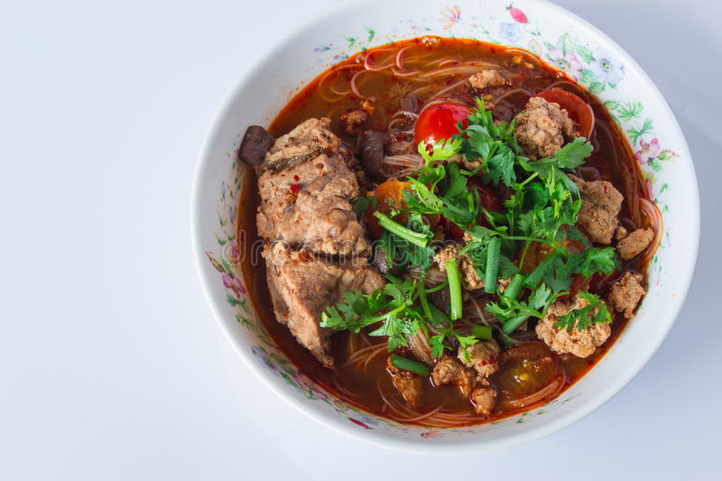 Food of Thailand stock image