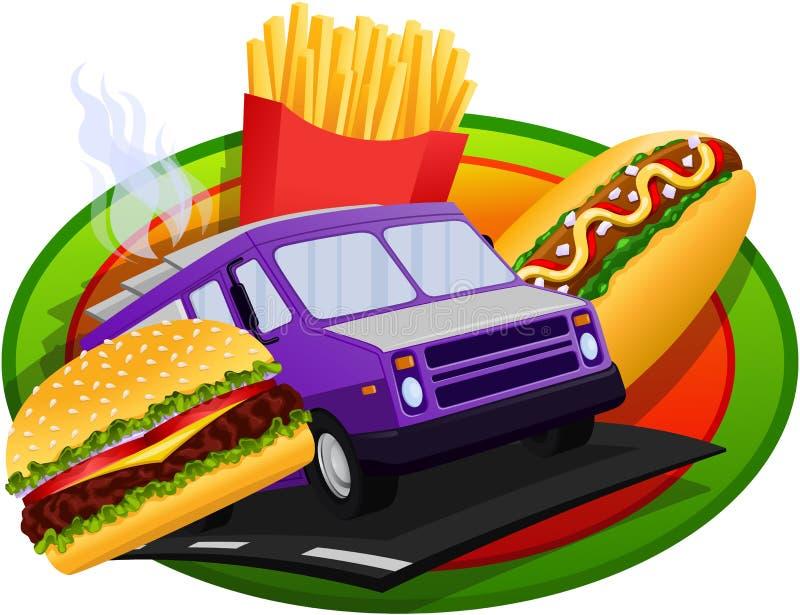Food Truck concept design vector illustration