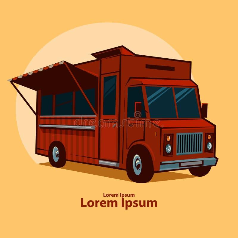 Food truck stock illustration