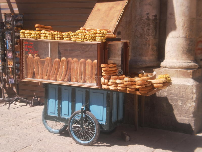 Food Vendor royalty free stock photography