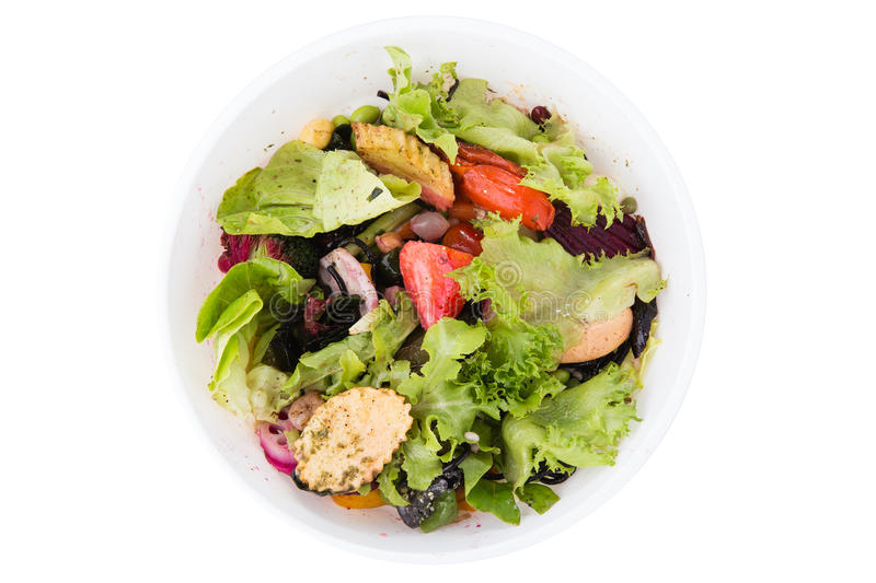 Food waste and scraps stock image