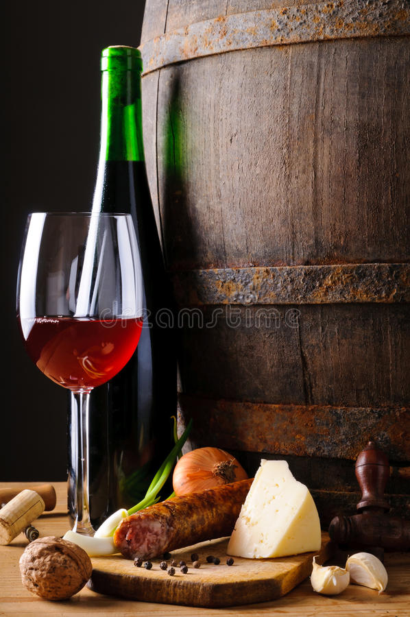 Food and wine stock images