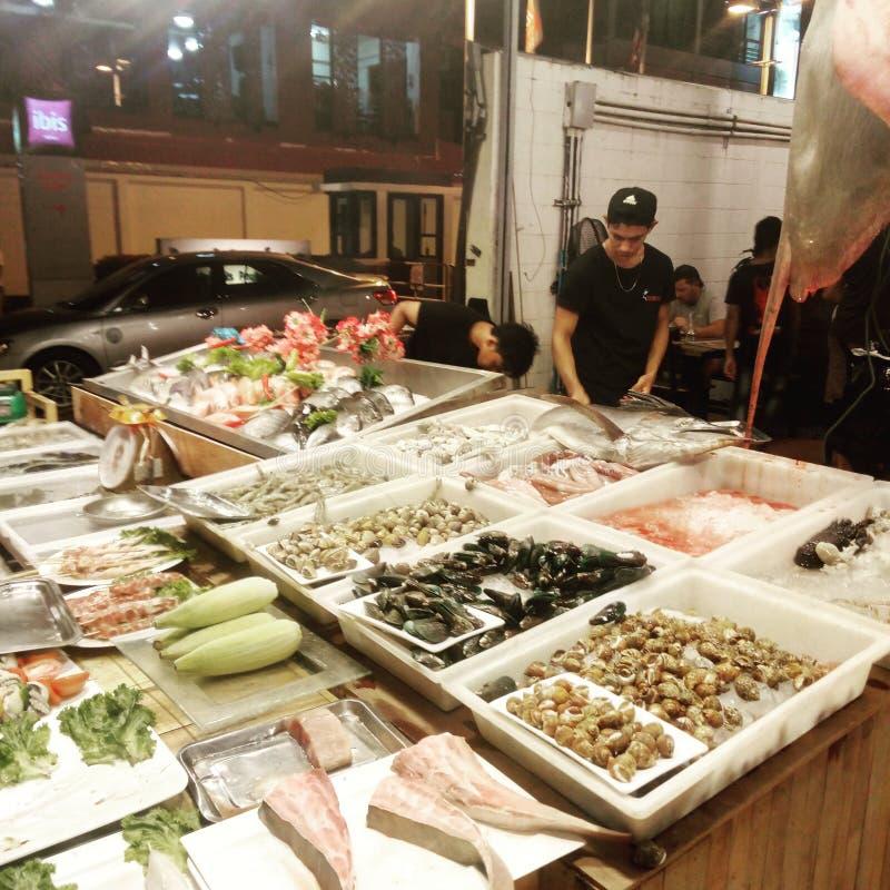 foodcort di phuket fotografie stock libere da diritti
