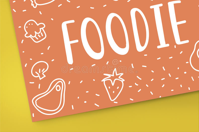 Foodie Gourmet Cuisine Eat Meals Concept royalty free stock photos
