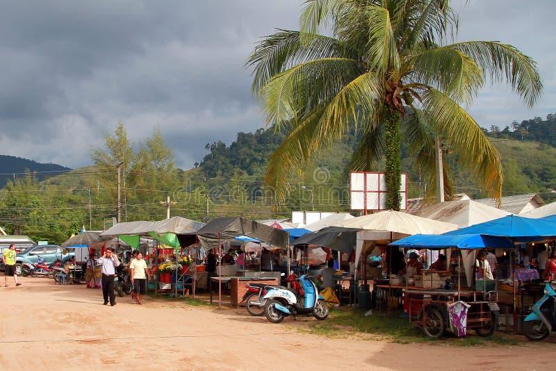 Foodmarket In Khao Lak, Thailand Editorial Photography