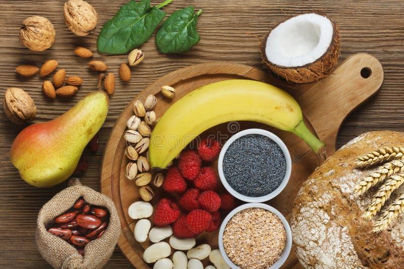 Foods bogaci w włóknie zdjęcie royalty free