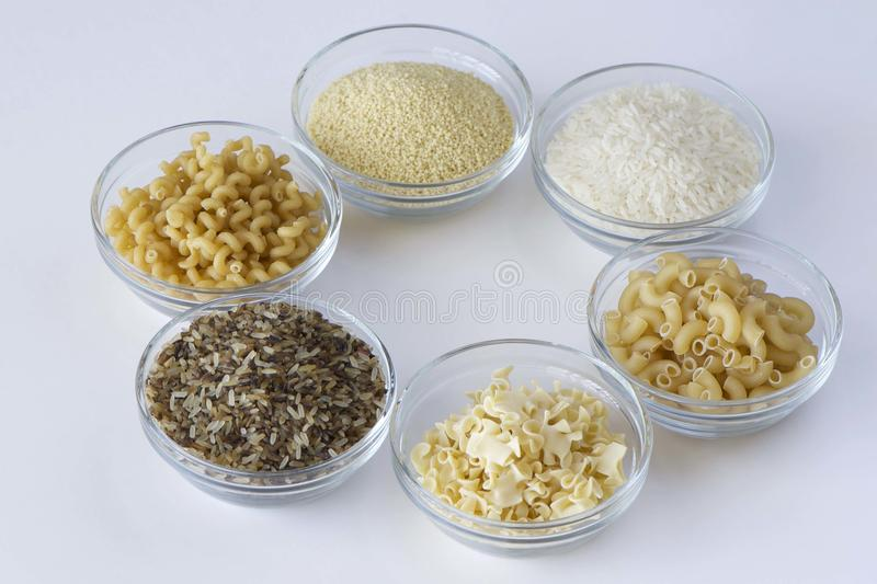 FOODS FOR BOILING PROCESS stock photography