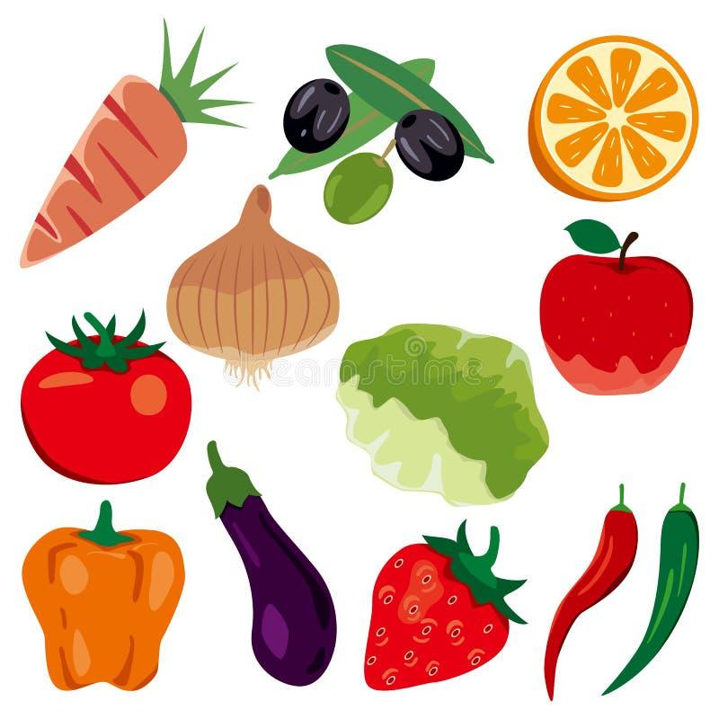 Free Foodstuff Icons Set Stock Photos - 18507103