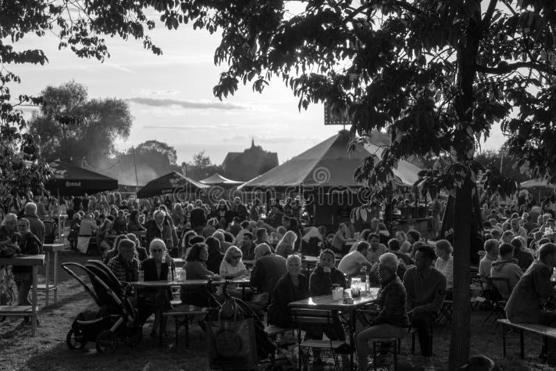 Foodtrack festival Wageningen September 2018-IV fotografering för bildbyråer