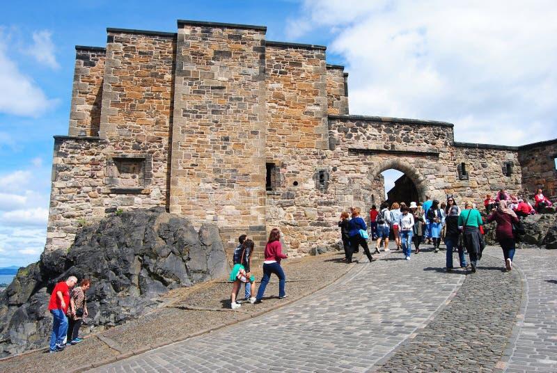 Foogs-Tor am Edinburgh-Schloss lizenzfreies stockfoto