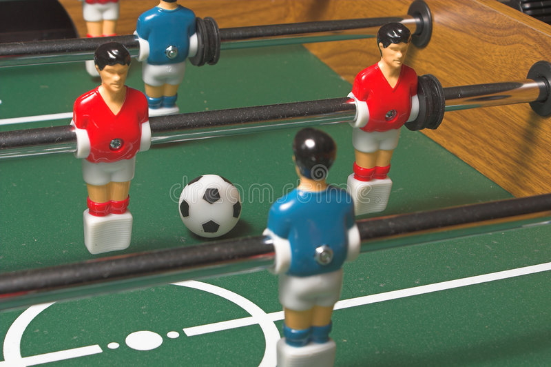 Foosball比赛 库存照片