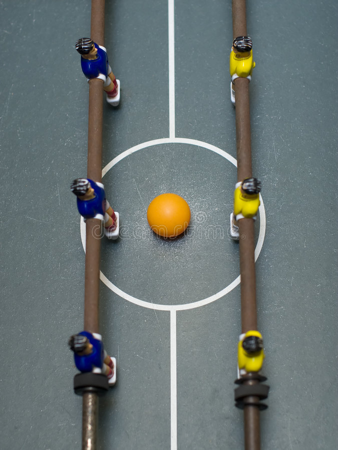 foosball καλυμμένη παιχνίδι κορυ στοκ εικόνες με δικαίωμα ελεύθερης χρήσης