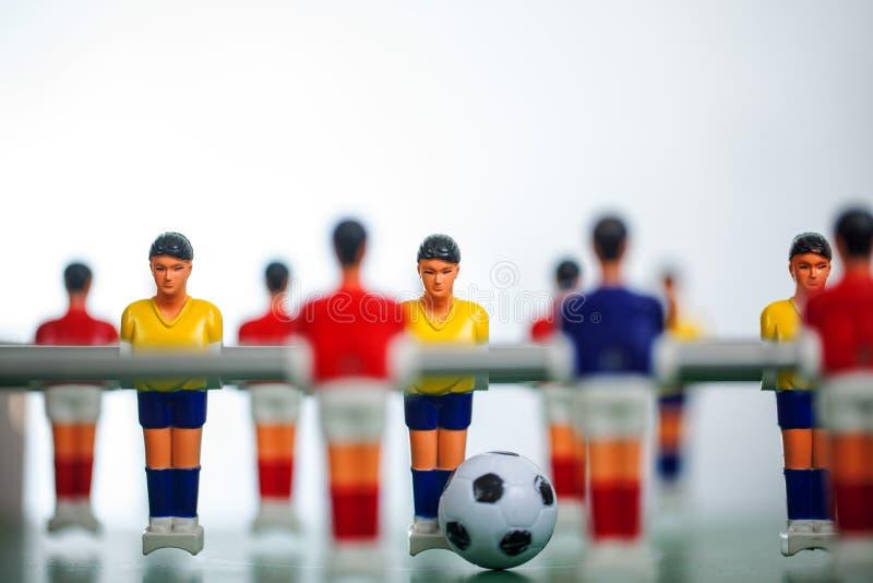 foosball Таблица футбола стоковые изображения