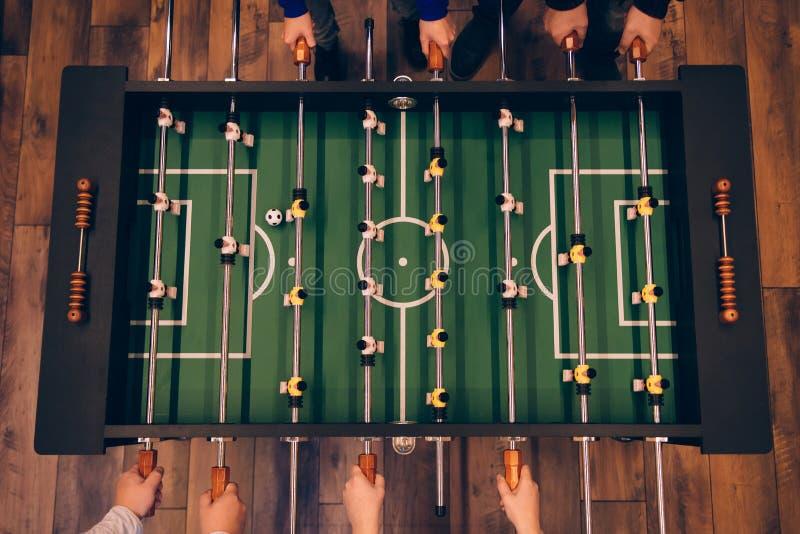Foosball Spiel stockfotos