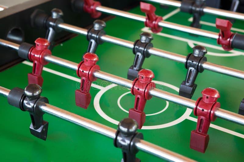 Foosball tabell arkivbilder