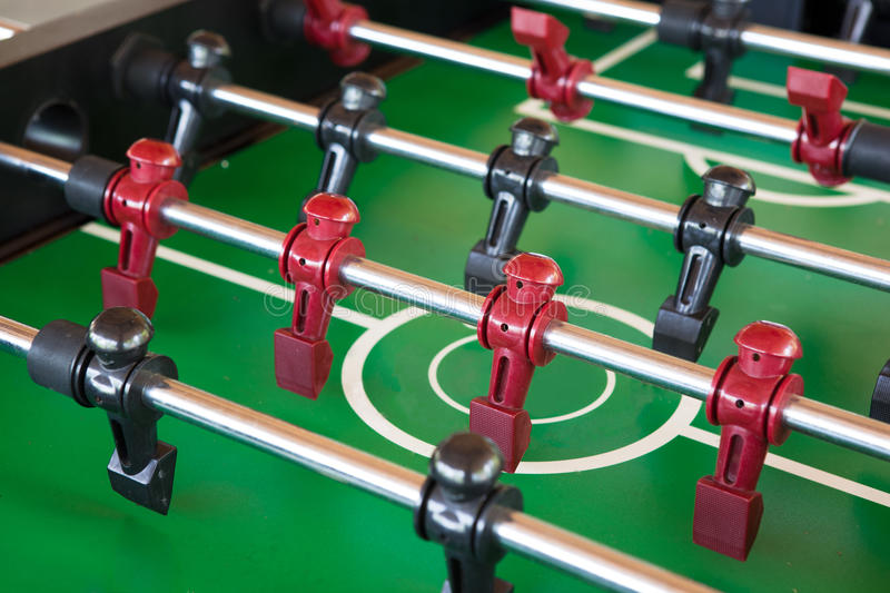 Foosball table stock images