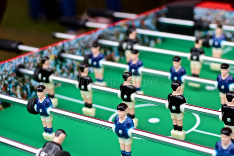 Foosball table royalty free stock image