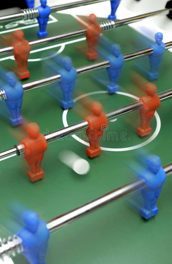 Foosball - Table Soccer stock photography
