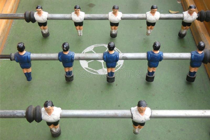 Foosballlijst stock foto