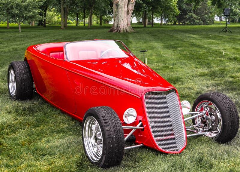 Foose 1933 Ford Roadster Design, conception d'EyesOn, MI images stock
