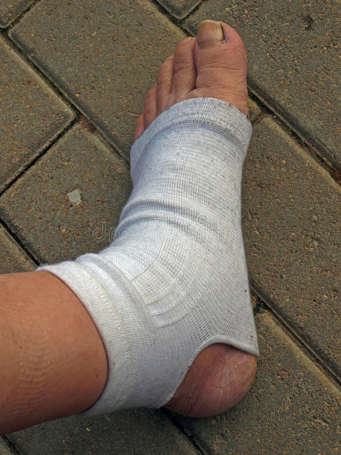Foot Ankle Orthosis Royalty Free Stock Photos
