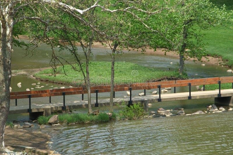 Download Foot bridge stock image. Image of leaves, trees, cross, rail - 3343