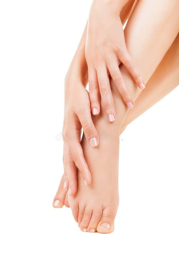 Foot care stock photos