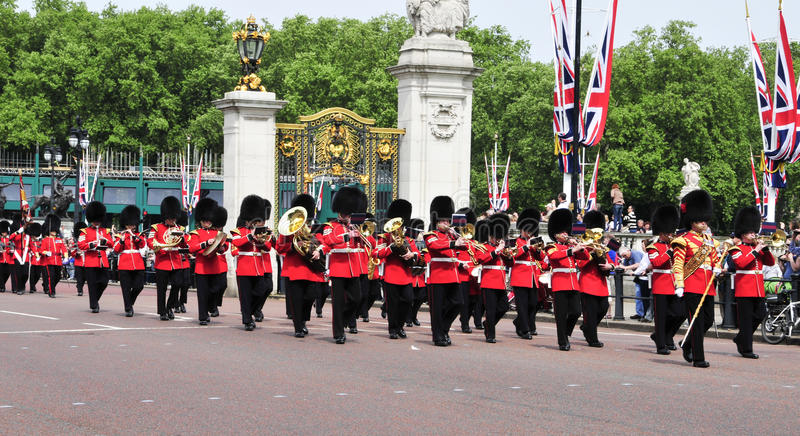 Foot Guards In London, United Kingdom Editorial Stock Photo