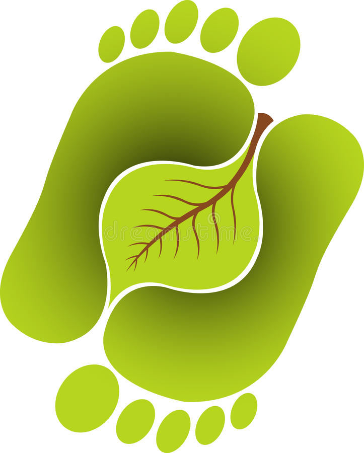 Download Foot leaf stock vector. Image of ayurveda, human, fresh - 22554718