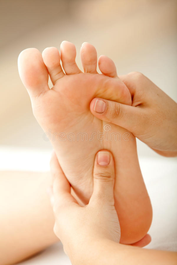 Download Foot massage stock image. Image of massaging, getting - 11031973