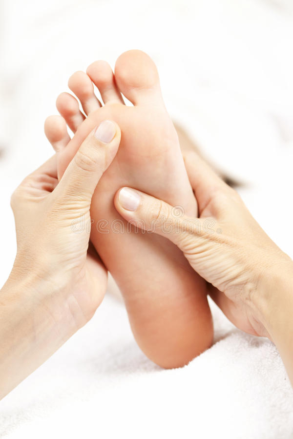 Download Foot massage stock image. Image of relax, care, hands - 21381919