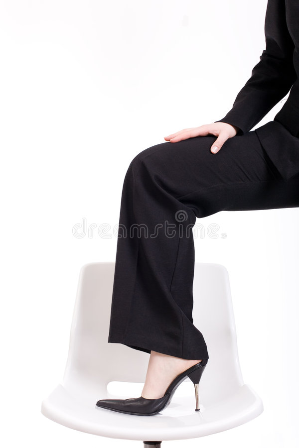 Free Foot On Office Chair Royalty Free Stock Images - 4780439